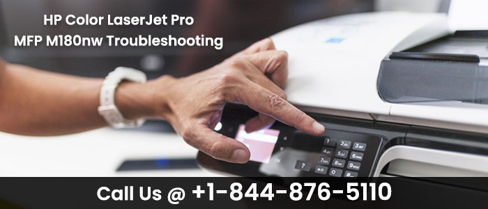 HP Color LaserJet Pro MFP M180nw Troubleshooting