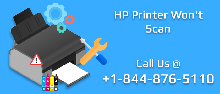 HP Printer Won't Scan