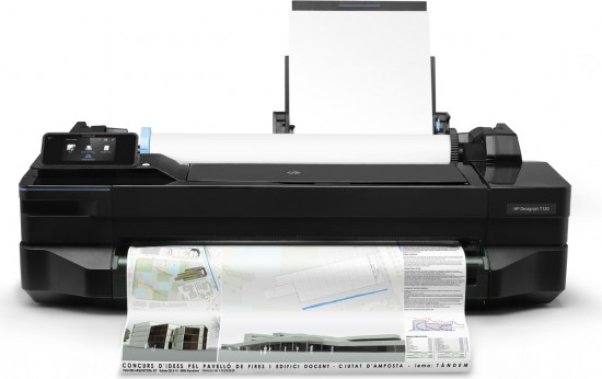 HP Unveils Designjet T120 and T520 ePrinter Series
